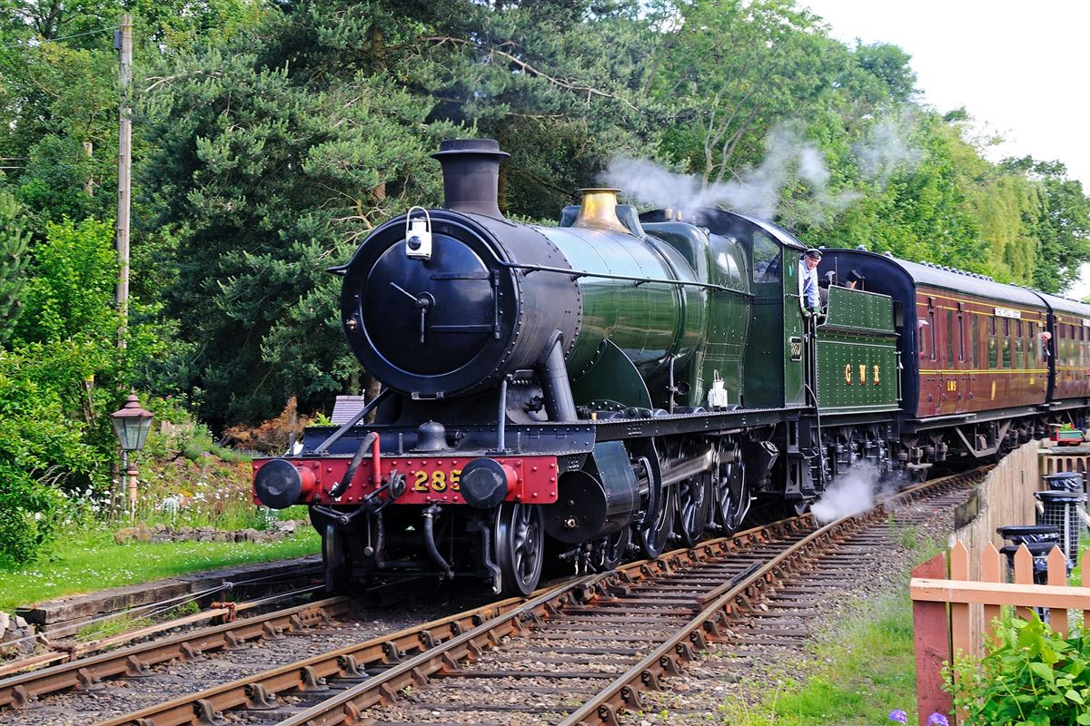 GWR Steam train