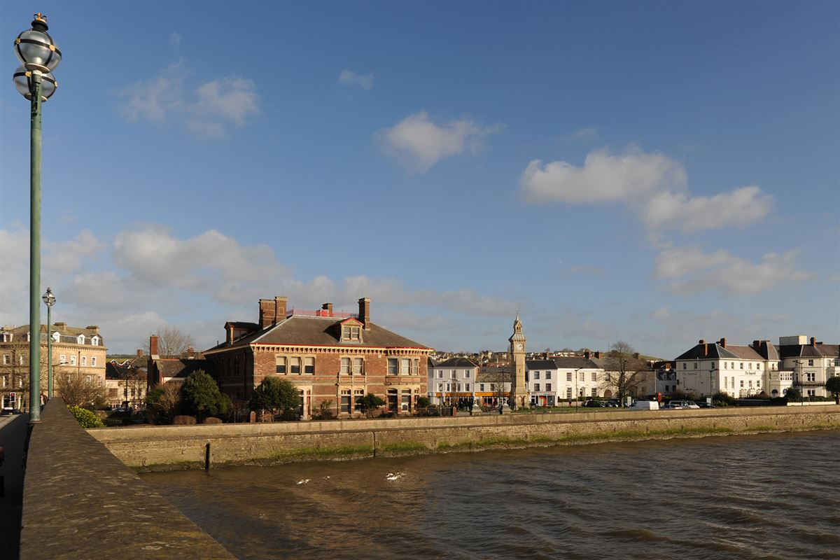 Barnstaple by the water